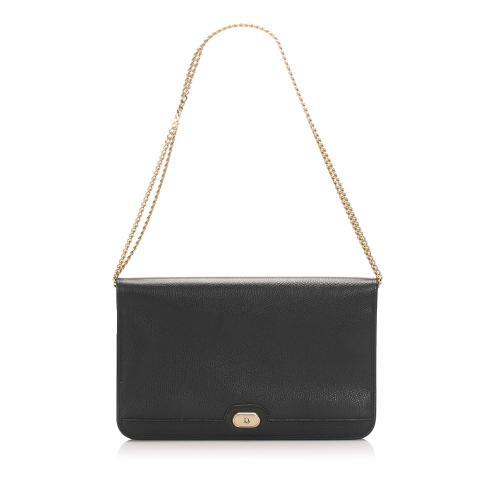 Dior Leather Chain Shoulder Bag