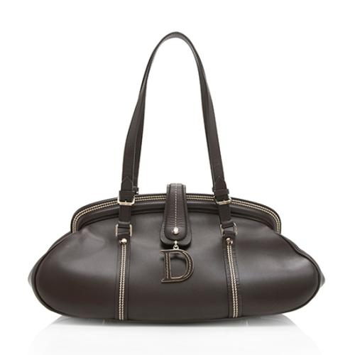 Dior Leather Detective Satchel