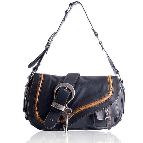 Dior Leather Gaucho Handbag