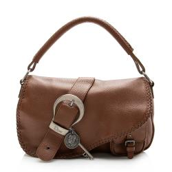 Dior Leather Gaucho Large Hobo