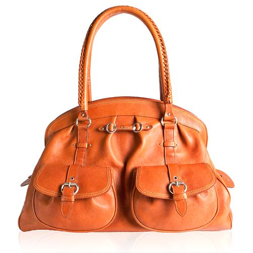 Dior Leather My Dior Large Tote