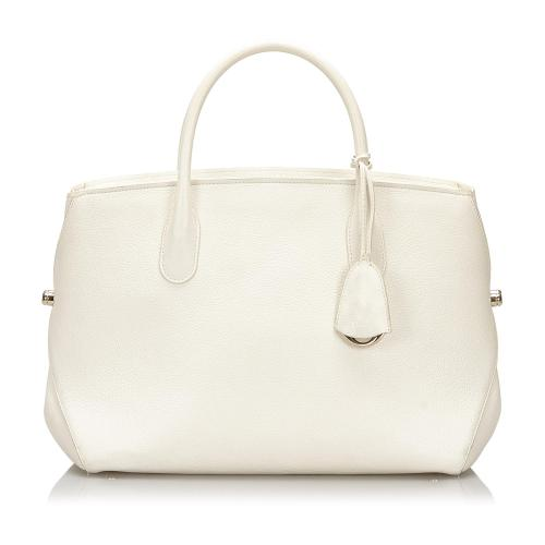 Dior Leather Open Bar Tote