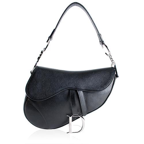 Dior Leather Saddle Handbag