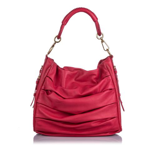 Dior Libertine Leather Hobo