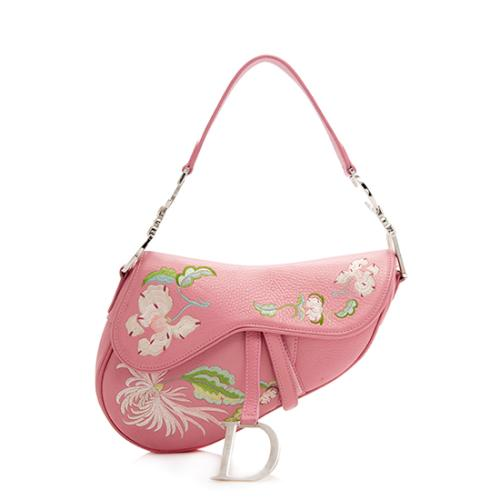 Dior-Limited-Edition-Leather-Embroidered-Saddle-Bag 99434 front large 0.jpg 51c033ae6216c