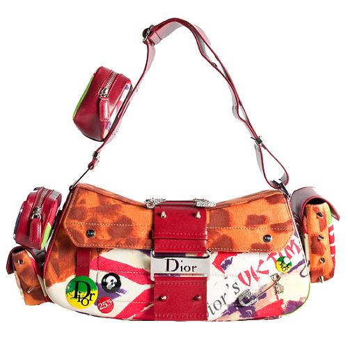 Dior Limited Edition Victim Street Chic Columbus Shoulder Handbag