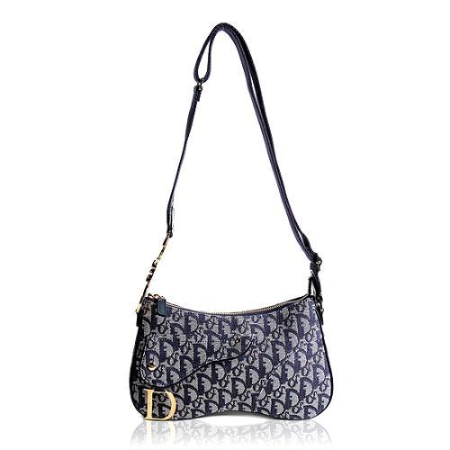 Dior Logo Double Saddle Shoulder Handbag