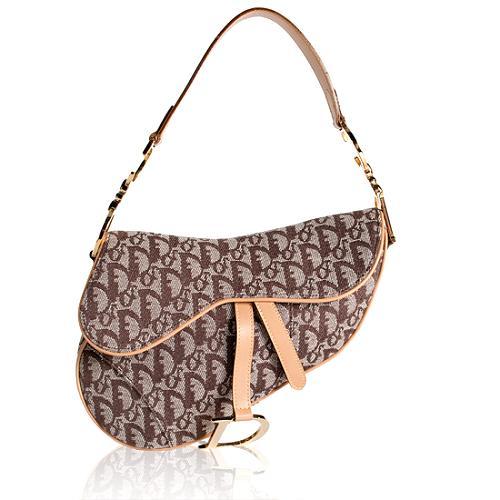 Dior Logo Flight Saddle Shoulder Handbag