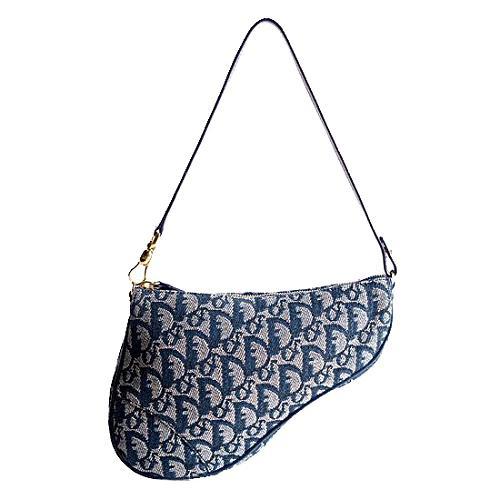 Dior Logo Mini Saddle Shoulder Handbag