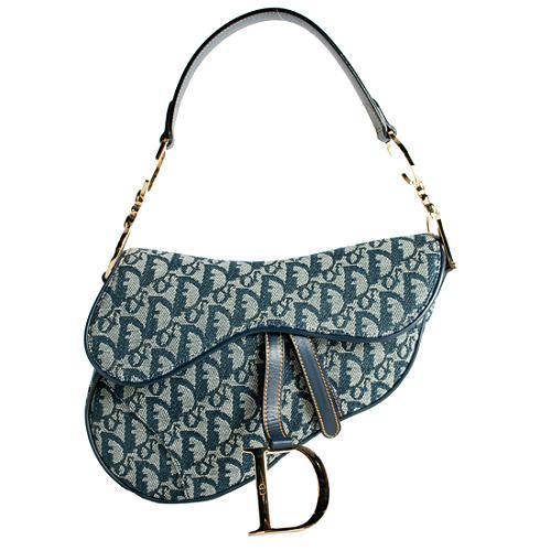 Dior Logo Saddle Handbag