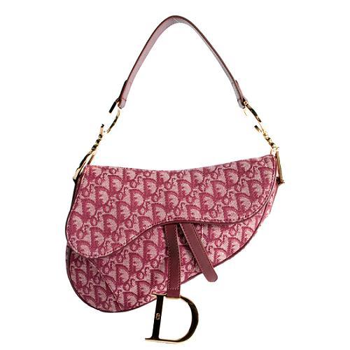 Dior Logo Saddle Shoulder Handbag