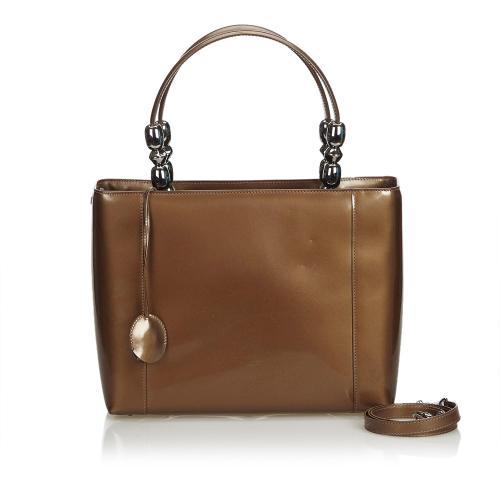 Dior Malice Patent Leather Satchel