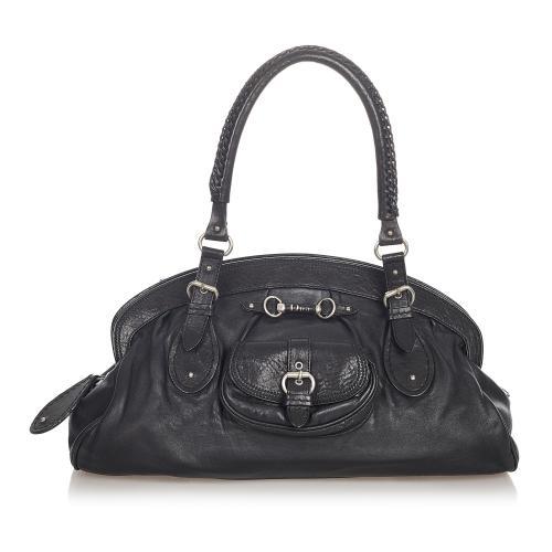 Dior My Dior Frame Leather Handbag