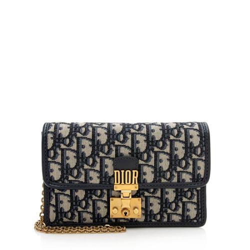Dior Oblique DiorAddict Chain Clutch