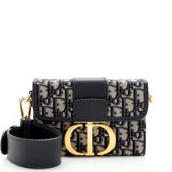 Dior Oblique Montaigne 30 Box Shoulder Bag