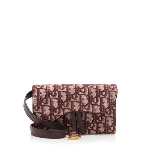 Dior Oblique Saddle Belt Bag