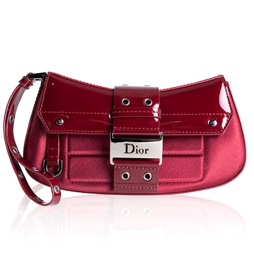 Dior Patent Leather Street Chic Columbus Avenue Wristlet