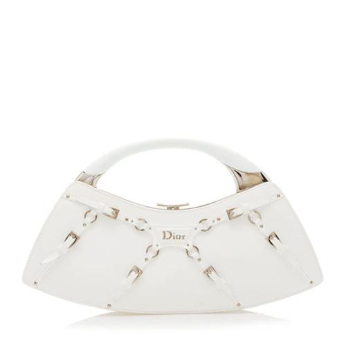 Dior Patent Leather The Latest Blonde Clutch