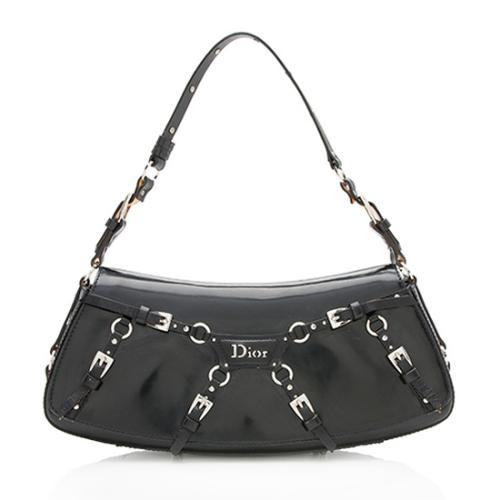Dior Patent Leather The Latest Blonde Shoulder Bag