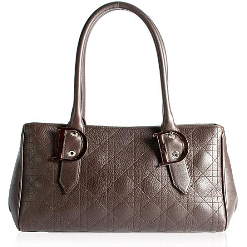 Dior Quilted Leather Cannage Small Tote