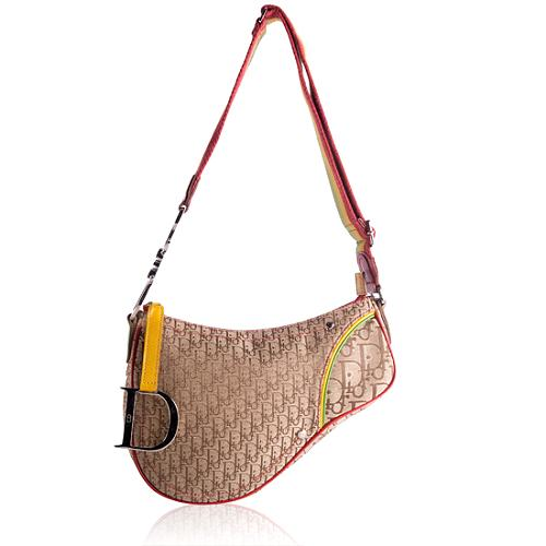 Dior Rasta Saddle Shoulder Handbag