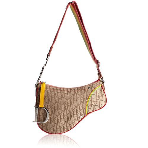 Dior Rasta Saddle Shoulder Handbag