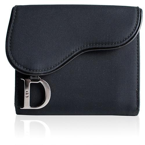 Dior Saddle Compact Wallet