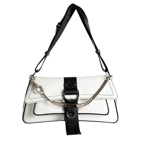 Dior Silk Jersey Hardcore Shoulder Handbag