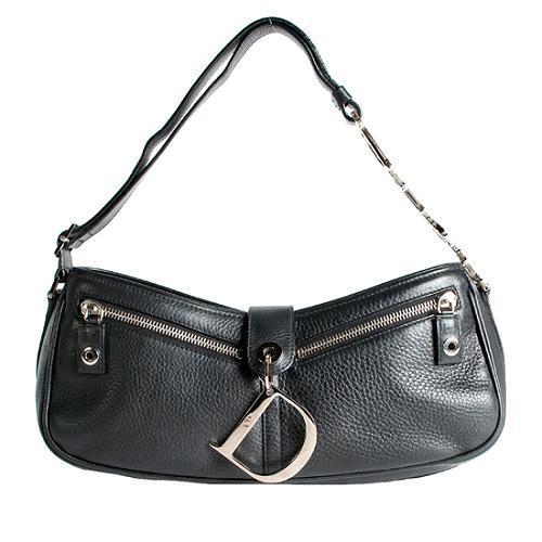 Dior Small Leather Shoulder Handbag