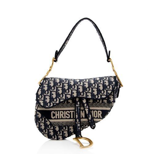 Dior Toile De Jouy Saddle Bag