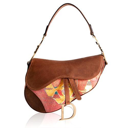 Dior Tribal Saddle Shoulder Handbag