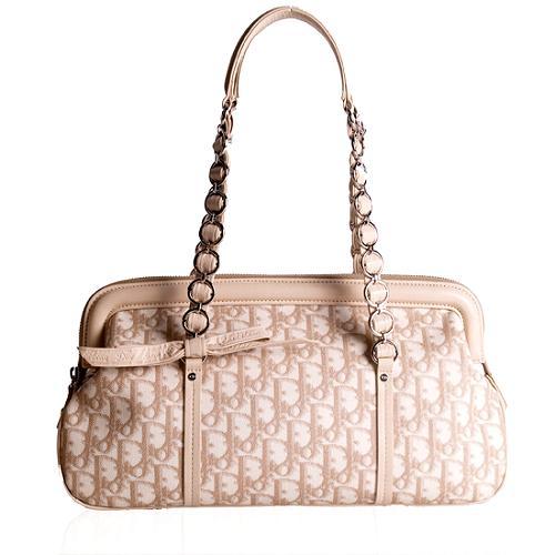 Dior Trotter Romantique Satchel Handbag