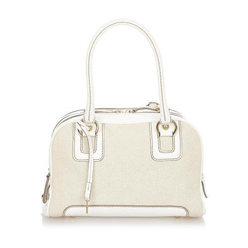 Dolce & Gabbana Canvas Handbag