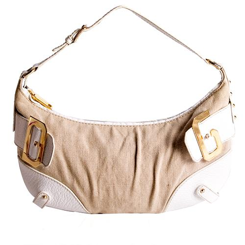 Dolce & Gabbana Canvas Hobo Handbag