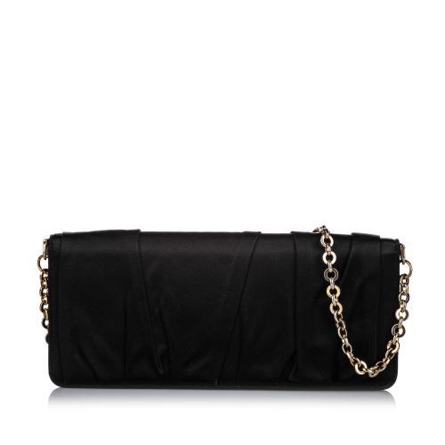 Dolce & Gabbana Nylon Chain Clutch