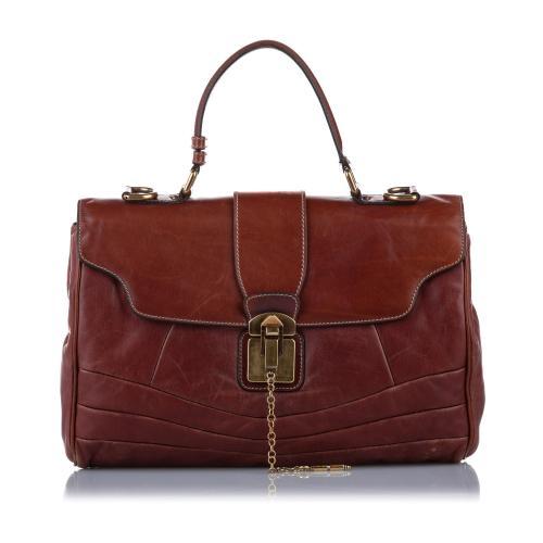 Dolce & Gabbana Leather Business Bag