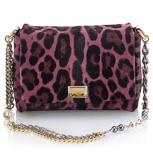 Dolce & Gabbana Miss Charles Small Jewel Haircalf Evening Bag