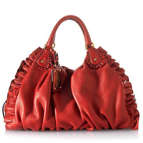 Dolce & Gabbana Miss Rouches Shoulder Bag