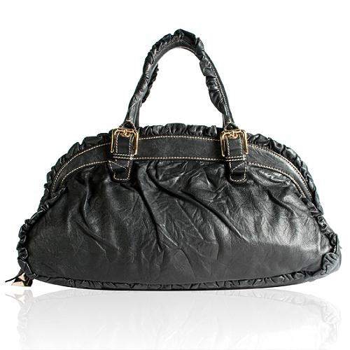 Dolce & Gabbana Miss Ruches Medium Satchel Handbag