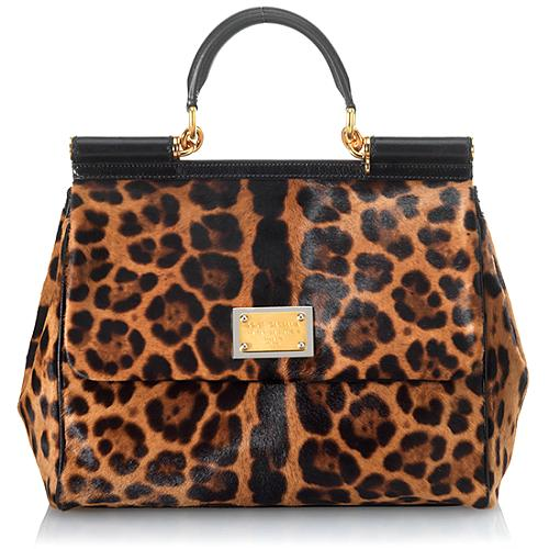 Dolce & Gabbana Miss Sicily Top Handle Handbag