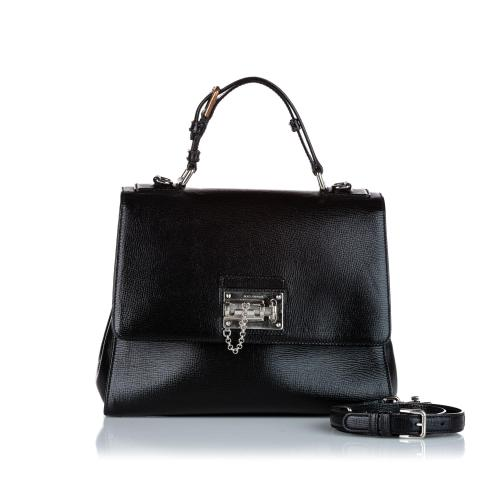 Dolce & Gabbana Monica Leather Satchel