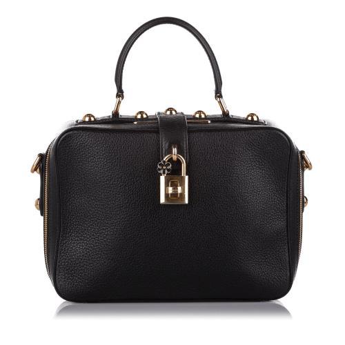 Dolce & Gabbana Rosaria Leather Satchel