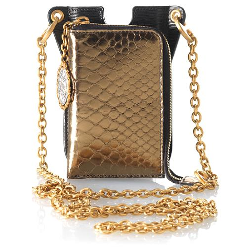 Dolce & Gabbana iPhone/Itouch/iPod/Blackberry & Card Python Holder