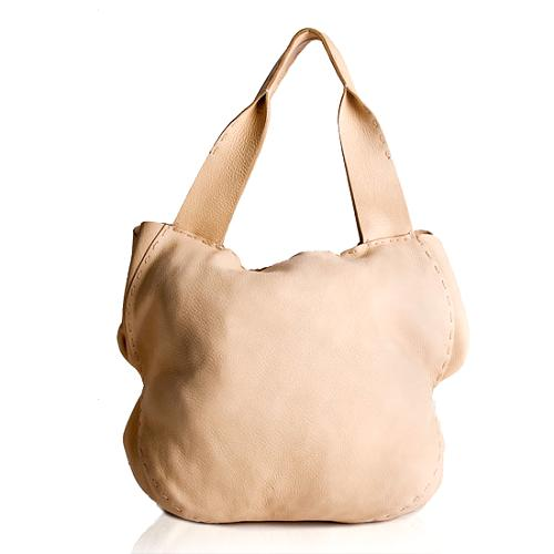 Donna Karan Leather Shoulder Handbag
