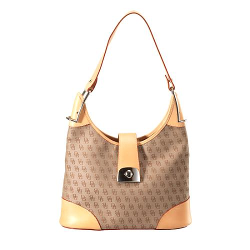 Dooney & Bouke Signature Hobo Handbag