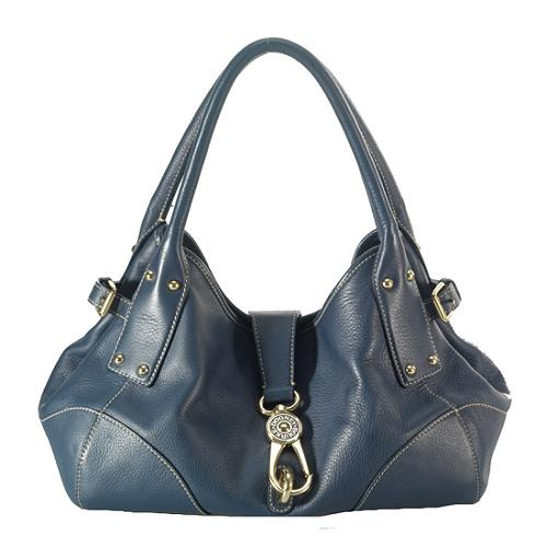 Dooney & Bourke Clip Flap Shoulder Handbag