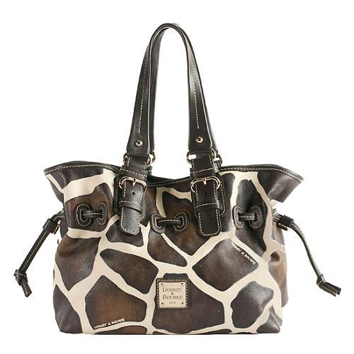 Dooney & Bourke Giraffe Medium Chiara Satchel Handbag
