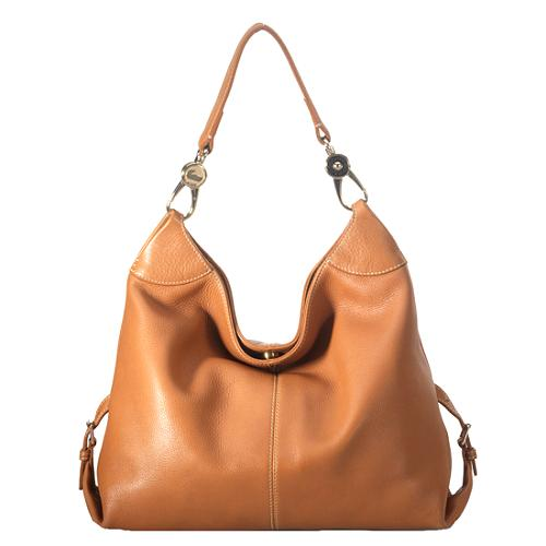 Dooney & Bourke Pebble Leather Medium Shoulder Handbag