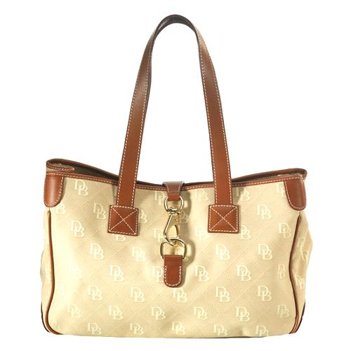 Dooney & Bourke Quilted Signature Satchel Handbag