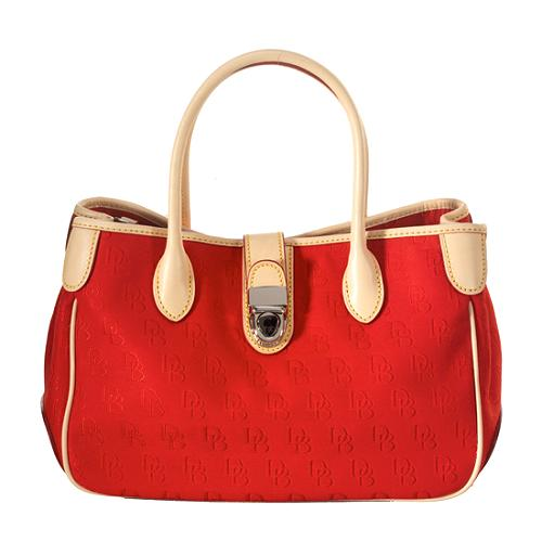 Dooney & Bourke Signature Double Handle Small Tote